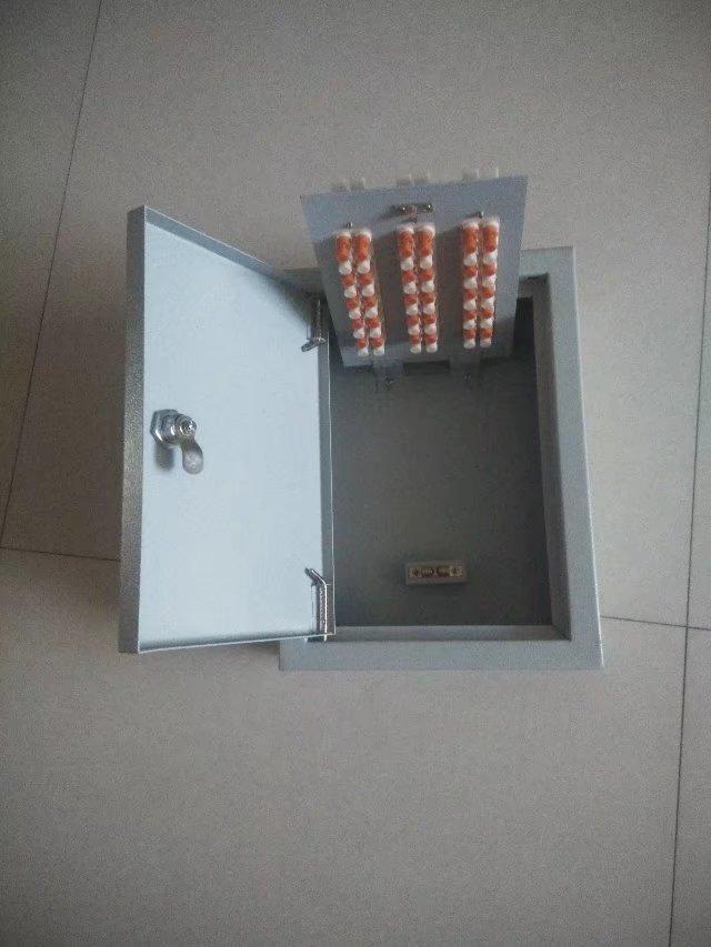 西安联电30对室内明装电话箱厂家直销