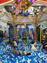 盛唐游乐设备球乐堡球瀑布小球王国球世界百万海洋球池淘气堡配套设施