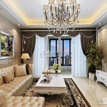 龙庭水岸134平装修报价-一号家居-龙庭水岸三室两厅欧式设计效果图
