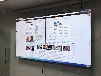 博慈55寸液晶拼接屏在上海复旦设计有限公司的应用