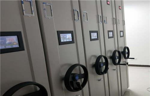 富阳密集型档案资料柜钢制