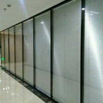 供应西安84款双层玻璃内置百叶高隔厂家