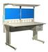 大业设备实验台全钢结构防静电工作台价格