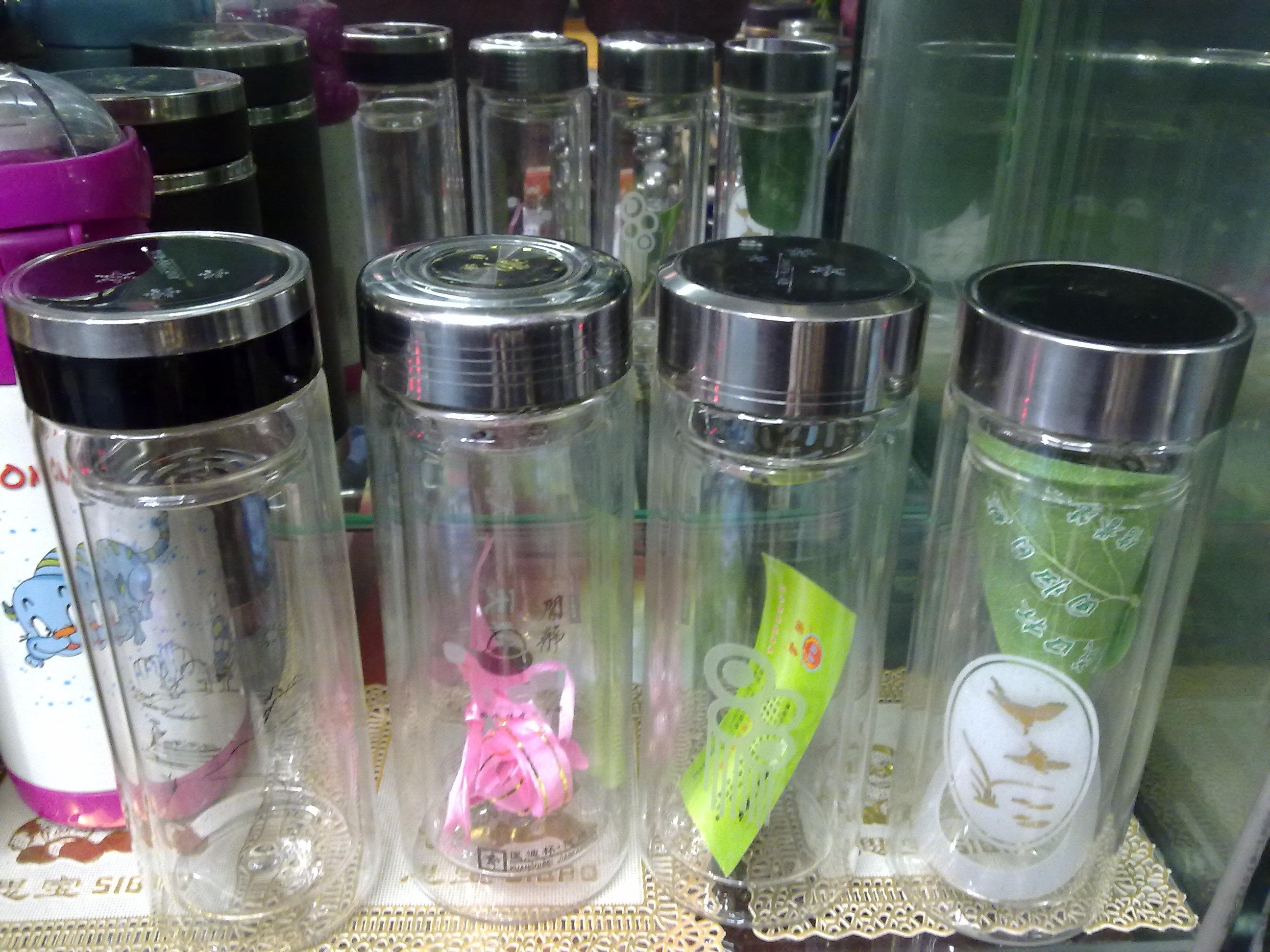 陕西广告促销礼品-广告杯定做办公礼品杯促销礼品陶瓷办公杯-双层不