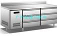 供应厨房冷藏平面工作台厨房柜酒店厨房设备