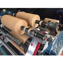 全自動牛皮紙分切機電腦高速薄膜分切機塑料軟包裝分條機高精度分切機圖片