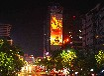 c都市巨影W155广告投影机在墙上播广告墙体广告投影楼宇广告投影