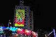 Z长春户外广告投影价格_建筑墙体广告投影机_广告投影灯