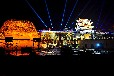 c都市巨影高清长焦建筑广告亮化投影机