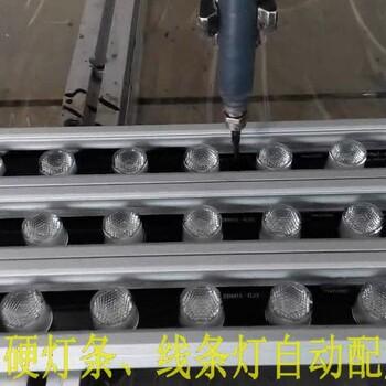 线条灯自动灌胶机