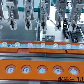 廣州供應洗墻燈透鏡自動貼裝機自動壓透鏡機