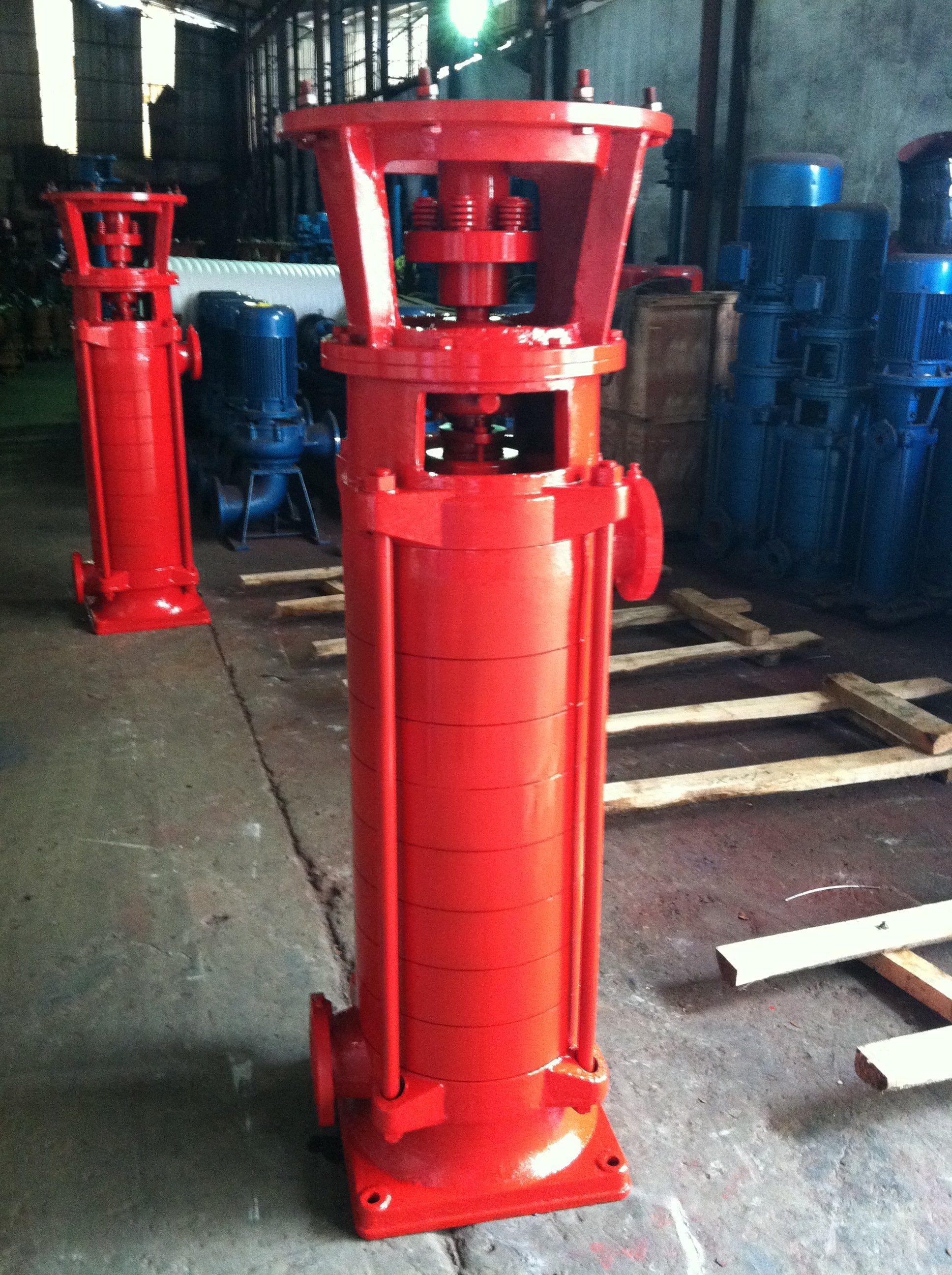 立式多级消防泵图片