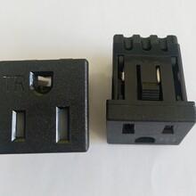 廠家供應BS-U15帶防護門美規電源插座圖片