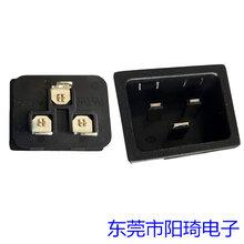 供应卡式C19品字插座IEC电源插座图片