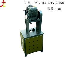 小型不锈钢圆管磨口机不锈钢防盗网冲孔机