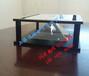 漫玻Ipad专用9.7寸3D全息展示柜/全息金字塔/全息幻影成像系统/全息投影