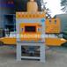 小型輸送式自動噴砂機小型工件噴砂處理