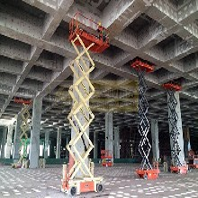 武汉高空作业升降机出租安全可靠正规商家图片
