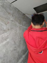 室內精裝瓷磚地面空鼓注漿樹脂圖片