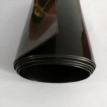 山东蓄水池采用0.5mm防渗膜铺设施工图片