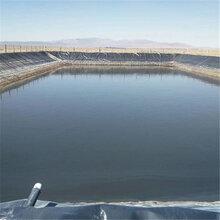 甘肃蓄水池铺设1.0mm防渗膜的方法图片