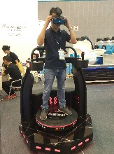 VR体验馆之VR自由激战VR动感平台