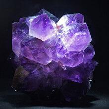 紫水晶鉴别方法怎么鉴定辨别天然紫水晶真假图片