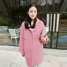 一手货源冬装新款时尚潮款毛呢大衣批发厂家直销保证质量最好卖女装外套货源
