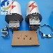 出口用攀帶式鋁合金接頭盒桿用ADSS/OPGW光纜24芯金屬帽式接線盒