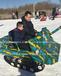 雪地游乐设备戏雪游乐设施雪地坦克雪地飞碟全液压转转厂家