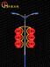 春节亮化LED灯杆造型LED发光灯杆造型灯杆造型灯春节打放价!