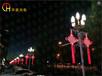 厂家批发LED发光中国结春节亮化LED发光中国结首选LED发光中国结