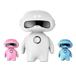 小皮皮儿童智能陪护机器人语音对话儿歌蓝牙早教学习机益智玩具