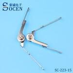 厂家供应台灯铰链生产厂家台灯铰链生产铰链订制SC-223-15图片