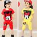 重庆童装批发市场货源最低价时尚儿童夏季T恤衫上衣批发厂家直销最便宜优质童装货源
