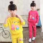 成都童装批发厂家直销最低价小孩子服装批发儿童加绒卫衣裤子打底衫特价批发