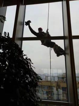 重庆高空外墙清洗、专业高空清洗人员