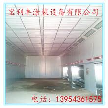 青岛市环保机械喷漆房-电加热烤漆房-光氧催化设备