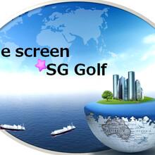 韩国进口SGGolf室内高尔夫模拟器