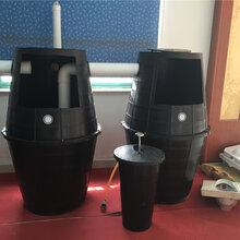 旱厕专用双瓮漏斗式化粪池厂家直销图片