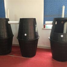 厂家直销双瓮漏斗式化粪池图片
