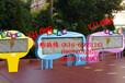 各种材质宣传栏为您订制就到江苏亿龙标牌厂公交站台