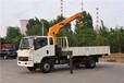 河南南阳5吨国五随车吊工作幅度9米起升高度11米需要的客户来三石厂家看车