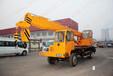 内蒙古呼伦贝尔小型吊车12吨自制底盘吊