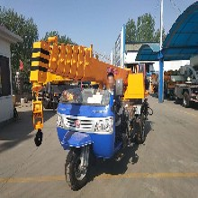 甘肃临夏农用三轮随车吊改装吊重3吨不用上牌油电两用的三马子吊车