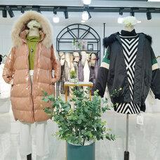 大山羽绒服,品牌折扣女装,正品尾货,广州莎奴服饰
