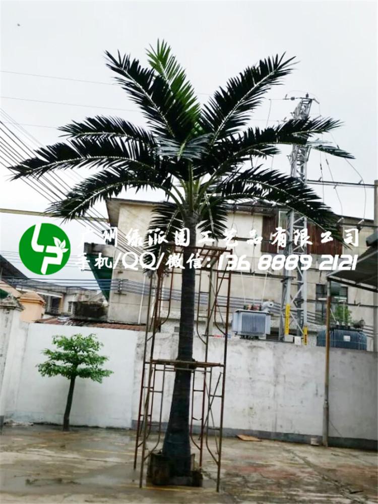 椰子树椰树酒店酒吧装饰假树广场大型仿真绿植大树餐