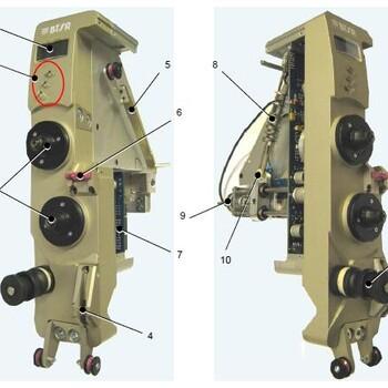 原装进口意大利绕线机张力器,全数码控制,绕线精度高
