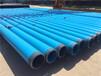 湖南省株洲大口徑小口徑國標生產涂塑鋼管廠家-河北國圻管道