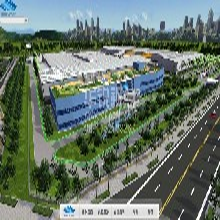 VR工业仿真教学,虚拟现实工厂全景展示,北京华锐视点